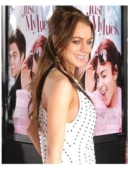 Just My Luck Premiere Photos:  Lindsay Lohan