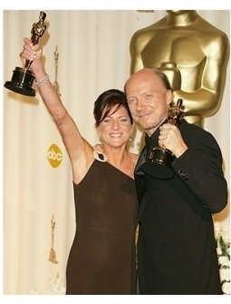 78th Annual Academy Awards Press Room Photos: Cathy Schulman and Paul Haggis