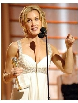 63rd Golden Globes Stage Photos: Felicity Huffman