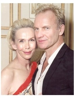 Snowflake Ball Photos: Trudie Styler and Sting