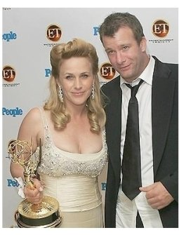 Entertainment Tonight and People Magazine Celebrate The 57th Annual Emmy Awards Photos: Patricia Arquette and Thomas Jane