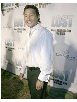 Lost Season 1 DVD Release Party Photos:  Daniel Dae Kim