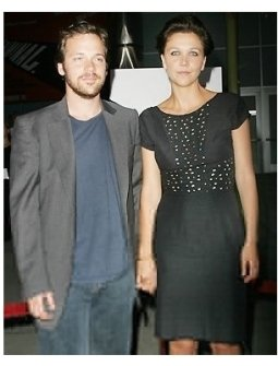 Peter Sarsgaard and Maggie Gyllenhaal at the Criminal Premiere