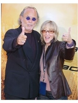 "Producers Avi Arad  and Laura Ziskin at the ""Spider-Man 2"" Premiere"