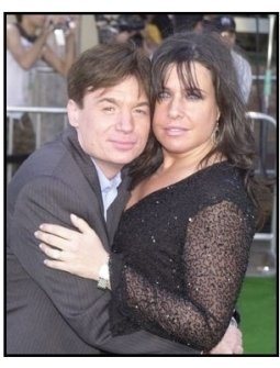 "Mike Myers and wife Robin at the ""Shrek 2"" Premiere"