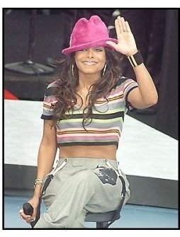 """Janet Jackson arrives for """"On-Air with Ryan Seacrest"""""""