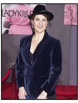 "Nia Vardalos at ""The Ladykillers"" premiere"