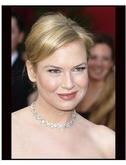 6th Annual Academy Awards-Renée Zellweger- Diamonds-ONE TIME USE ONLY