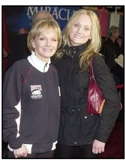 """Cathy Rigby and daughter Theresa at the """"Miracle"""" premiere"""
