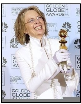 61st Annual Golden Globe Awards--Backstage-Diane Keaton-HFPA--ONE TIME USE ONLY