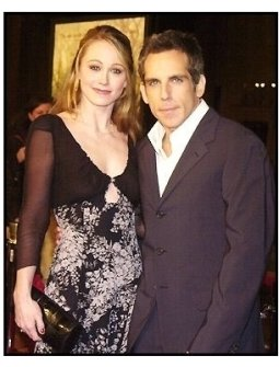 """Ben Stiller and wife Christine Taylor at the """"Along Came Polly"""" Premiere"""