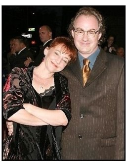 "ONE TIME USE ONLY: John Billingsley and date at the ""Out of Time"" Premiere"