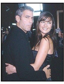 "George Clooney and Catherine Zeta-Jones at the ""Intolerable Cruelty"" premiere"