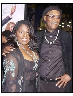 "LaTanya Richardson and Samuel L. Jackson  at ""The Fighting Temptations"" premiere"