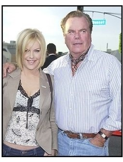 "Robert and Katie Wagner at the ""Open Range"" premiere"
