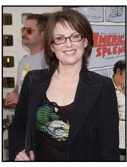 "Megan Mullally at the ""American Splendor"" premiere"