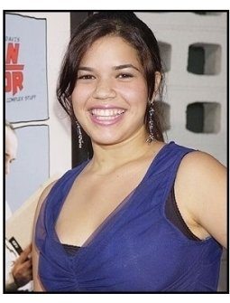 "America Ferrera at the ""American Splendor"" premiere"