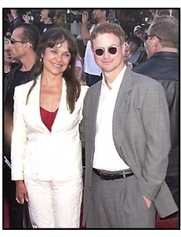"Gary Sinise and Moira Harris at the ""Terminator 3: Rise of the Machines"" premiere"