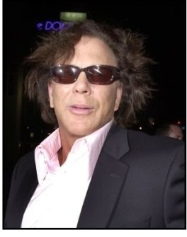 "Mickey Rourke at the ""Spun"" Premiere"