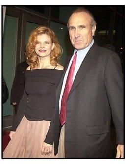 """Lolita Davidovich and director Ron Shelton at the """"Dark Blue"""" premiere"""