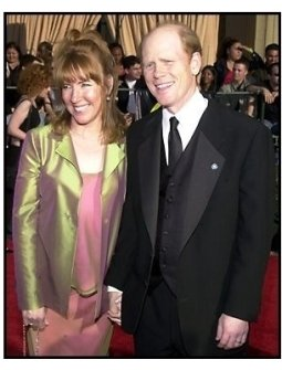 Ron Howard and wife at the 2002 SAG Screen Actors Guild Awards