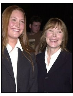 Schuyler Fisk and Sissy Spacek at the Orange County premiere