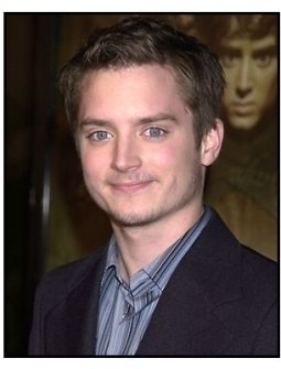 Elijah Wood at the The Lord of the Rings: The Fellowship of the Ring premiere