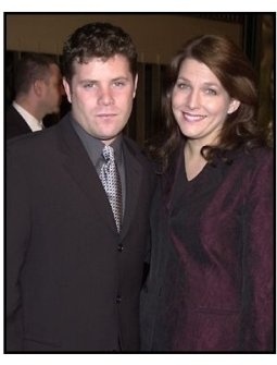 Sean Astin and wife at the The Lord of the Rings: The Fellowship of the Ring premiere