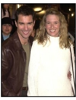 Eric McCormack and wife Janet at the Harry Potter Premiere
