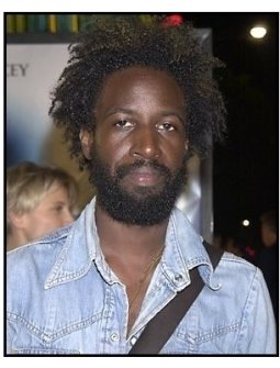 Saul Williams at the K-PAX premiere