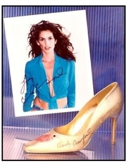 Weitzman Shoe: Cindy Crawford