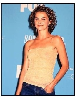 Keri Russell backstage at the 2000 Teen Choice Awards
