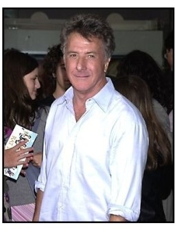 Dustin Hoffman at the Rat Race premiere