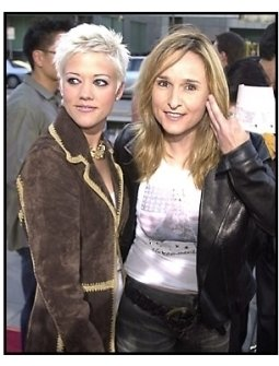 Melissa Etheridge and Tammy Lynn Michaels at the A.I. Artificial Intelligence premiere