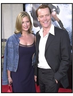 Iain Glen and date at the Tomb Raider premiere