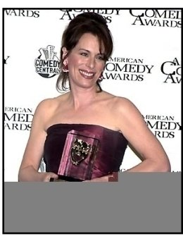 Jane Kaczmarek backstage at the 2001 American Comedy Awards