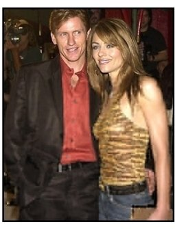 Denis Leary and Elizabeth Hurley at the Blow premiere