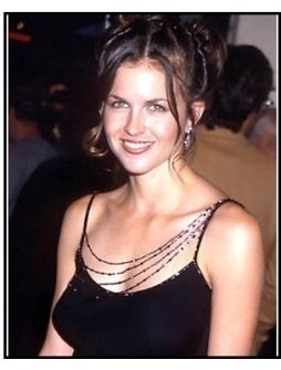 Laurie Fortier at The In Crowd premiere