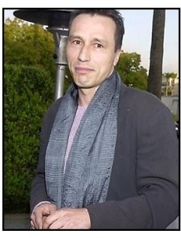 Michael Wincott at the Along Came a Spider premiere