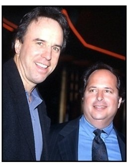 Kevin Nealon and Jon Lovitz at the Little Nicky premiere