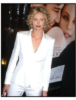Charlize Theron at the Sweet November premiere