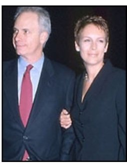 Christopher Guest and Jamie Lee Curtis at the Quills premiere