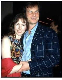 Bill Paxton and wife at the Vertical Limit premiere