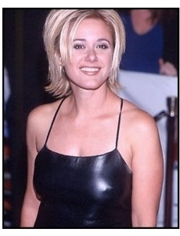 Leah Lail at the Little Nicky premiere