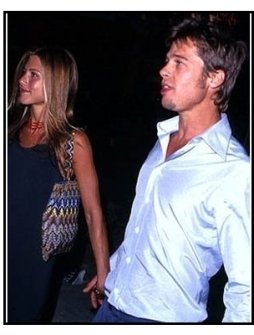 "Jennifer Aniston and Brad Pitt at the ""Eyes Wide Shut"" Premiere"