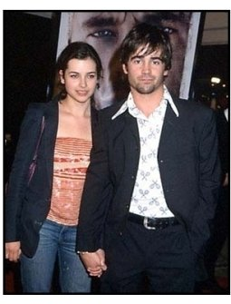 Colin Farrell and Amelia Warner at the Cast Away Premiere
