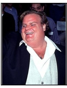 "Chris Farley at the ""Excess Baggage"" Premiere"