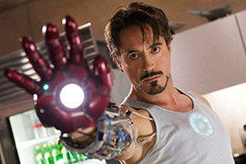 Robert Downey Jr, Iron Man