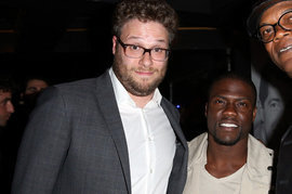 Seth Rogen and Kevin Hart