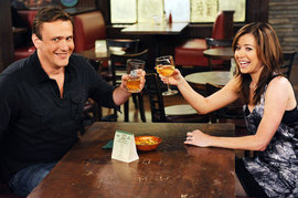 Alyson Hannigan and Jason Segel, How I Met Your Mother